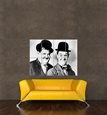 POSTER PRINT   MOVIE FILM ACTORS STAN LAUREL OLIVER HARDY COMEDY ICONS SEB404