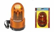 """LOOK"" Auto Revolving Warning Light Yellow Amber Beacon Recovery Emergency UK"