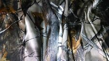 "HUNTING CAMO TRUE TIMBER XD3 FABRIC 58""WIDE BRIDAL SATIN CAMOUFLAGE"