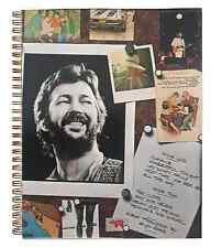 for the Slowhand - Eric Clapton   fan / COCAINE / Album Cover Notebook vintage!!