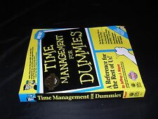 Time Management for Dummies by Jeffrey J. Mayer (1995, Paperback)