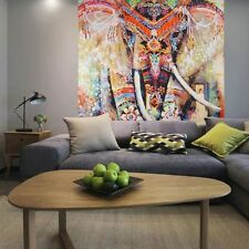 Indian Wall Hanging Hippie Mandala Tapestry Ethnic Dorm Decor Bedspread Elephant