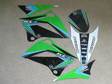FLU Designs PTS2 GRAPHICS  KAWASAKI  KLX110 2010 2011 2012 2013  2014 2015 2016