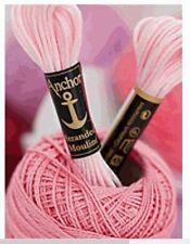Anchor Stickgarn Sticktwist uni 10 Docken alle Farben 100% Baumwolle