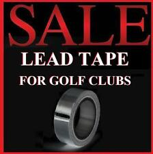 "Lead Tape for Golf Clubs Drivers/Irons Putter 1/2""x100"" Sticky Back Adhesive"