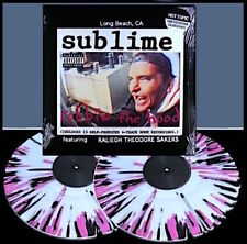 SUBLIME Robbin the Hood Clear Pink Black Splatter Hot Topic Vinyl Record LP