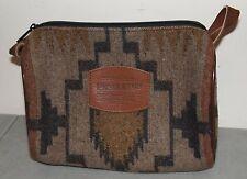 Nice!! PENDLETON Western Navajo WOOL TRAVEL BAG (Cosmetic Case, Toiletry Tote)
