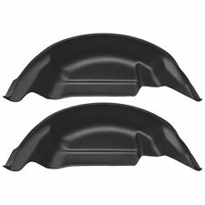 Husky Liner 79121 Rear Wheel Well Guards; Black; Fits 2015-2016 Ford F-150