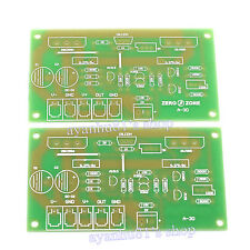 2pcs Dual Channel 30W *2 Class A MOSFET Audio Power Amplifier Board Amp Bare PCB