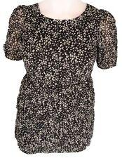 BNWOT black swallow bird top mini dress  tunic sz small 8 10 12 fun flirt JAPNA