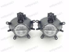 1Pair Clear Front Bumper Fog Lights Lamps For BMW 3-Series E46 2001-2004