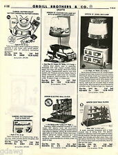 1981 ADVERT Custom Conversion Van Toy Arrow Electric Ball Clock Golf Spiderman