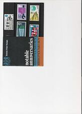 1969 ROYAL MAIL PRESENTATION PACK NOTABLE ANNIVERSARIES MINT PRE DECIMAL STAMPS