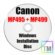 Canon Pixma MP495 Printer Windows Installation disc - see shop for other discs