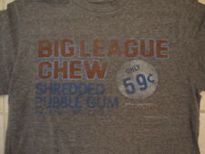 Old Navy Collectabilitees Big League Chew Bubble Gum Retro Distressed T Shirt M