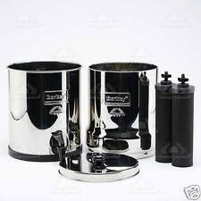 Big Berkey Water Filter w 2 Black Filters - PLUS Counter Stand - FREE Shipping