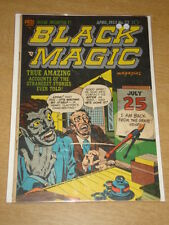 BLACK MAGIC VOL 3 #5 VG (4.0) CRESTWOOD PRIZE COMICS JACK KIRBY APRIL 1953