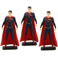 Lot 3 Gift DC Comics SUPERMAN MAN OF STEEL 3.5'' ACTION FIGURE Movie Toys Y53*3