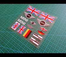 MINI BMW COOPER S British UK germany Flag Car interior Window Decal Sticker