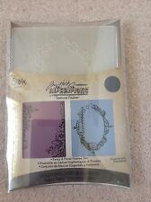 Sizzix embossing folders x2-Tim Holtz Fancy e cornici Floreali Set