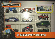 Matchbox Mbx 10 coche Conjunto de Regalo-Sheriff Patrol Car, Jeep Willys, Cherokee, petrolero