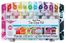 Tulip SUPER BIG TIE DYE Kit One Step 12 Colour 36 Projects