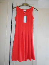 "Stunning Designer Coral Dress form the ""VILA"" Label: Size Small: BNWT RRP £30.00"