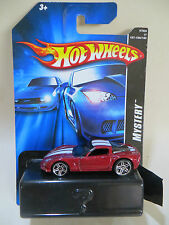 HOTWHEELS 'MYSTERY SERIES' C6 CORVETTE/'VETTE - RED, WHITE SRIPES - MIB/BOXED