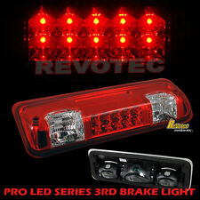 04-08 Ford F150 07-10 Sport Trac LED High Mount 3rd Third Brake Light Red