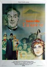 AND THE SHIP SAILS ON 1983 Federico Fellini, Freddie Jones ITALIAN POSTER
