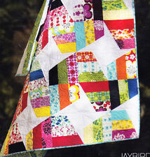 Unwind - fabulous modern pieced quilt PATTERN