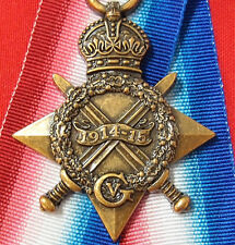 WW1 1914 - 15 STAR MEDAL AUSTRALIAN ARMY NAVY AIR FORCE REPLICA ANZAC GALLIPOLI
