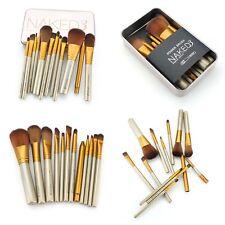 Eyeshadow Brushes Powder 12pcs Set Pro Makeup Cosmetic Tool Foundation Lip Brush