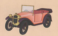 Vintage Car Mercedes Labourdette Skiff Painting Artwork Art Gallery London INDIA