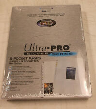 300 Ultra Pro  Silver Series 9 Pocket Pages New Factory Sealed