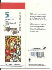 CANADA 90c MADONNA AND CHILD BOOKLET UT 204a