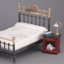 Marbre surmonté de table de chevet ~ superbe échelle 1/12th miniature par reutter porzellan