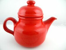 Waechtersdach Tea Pot Red Ceramic Pottery Coffee Pot West Germany