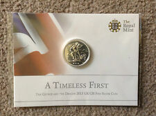 2013 St. GEORGE and the DRAGON SILVER £20 Pound coin from ROYAL MINT - NEW