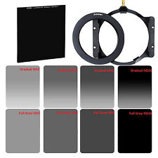 ZOMEI 82mm Ring+Holder+150mm GND&ND2,ND4,ND8,ND16 Filter Kit+100mm Glass ND1000