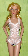 "Ready2Wear White Lace Teddy Outfit Fits Tonner 13"" Fashion Dolls Simone Suzette"
