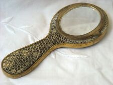 RARE AND UNUSUAL FIGURAL SNAKESKIN POWDER COMPACT C1930