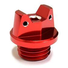 MotoSculpt Oil Fill Cap Plug for Kawasaki KX60 KX65 KX80 KX85 KX100 - RED