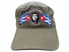 ATLANTIS cappello CHE GUEVARA CUBA berretto ESERCITO oliva CASTRO Sierra Maestra