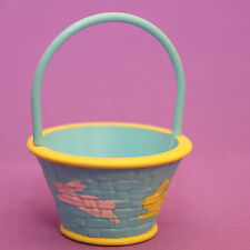 Hallmark Merry Miniatures EASTER 1986 Blue Basket w/ Bunnies EHA4143 SHIPS FREE