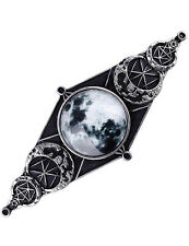 MONN GEOMETRY Hairclip Hair Barrette, Gothic, Pagan, Wiccan, Steampunk Fashion