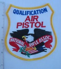 National Rifle Association  Air Pistol Qualification Patch  NRA