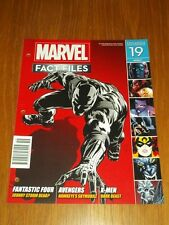 MARVEL FACT FILES #19 EAGLEMOSS COLLECTIONS WEEKLY UK MAGAZINE BLACK PANTHER