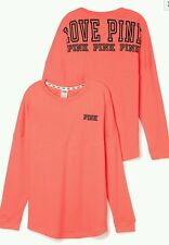 VICTORIA'S SECRET NEW!!! PINK LIMITED EDITION VARSITY CREW LARGE