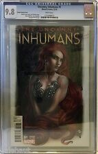 UNCANNY INHUMANS # 1 CGC 9.8. GRANOV VARIANT! RED HOT! MARVEL NOW!